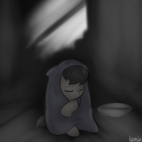 octavia + blanket + basement by Lamiaaaa