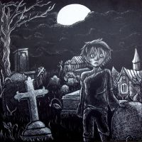 Bod from the graveyard book by kelliexlr