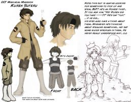 OCT: Kuren Suteru Reference by LynntheHylian