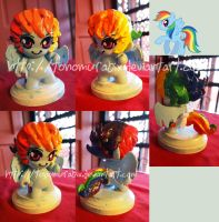 My Little Munny .:. Rainbow Dash by TonomuraBix