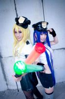 Panty and Stocking by OluciaO