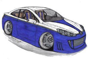 Peugeot 407 Coupe by Mister-Lou