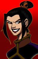 Azula of the Evil Smile by demunlawin