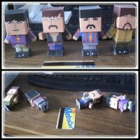 Bealtes Papercraft 3 by giraffesonparades