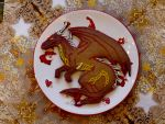 Merry Dragon Gingerbread Christmas by The-Black-Panther