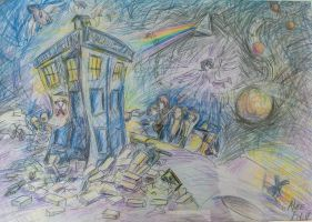 The Doctor meets Pink Floyd by AliceFilin