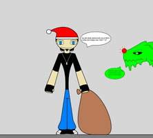 Merry X-mas form Toby and Slime by 115spartan