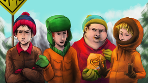 SouthPark by Foxeaf