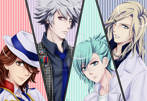 Quartet Night - Uta no Prince Sama by Ringo101
