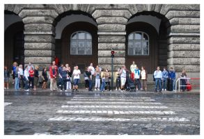 People of Prague by MiouQueuing