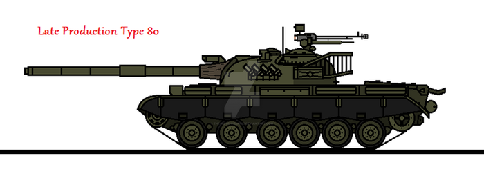 Late Production Type 80 by thesketchydude13