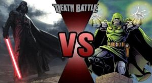 Darth Vader vs Doctor Doom by FEVG620
