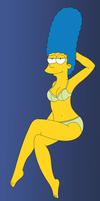 Marge Simpson by tjlive5