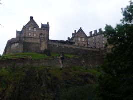 Edinburgh Castle by Caillean-Photography