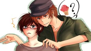What was that about aisu...? by Dramatical-Dumplings