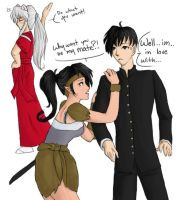 Inuyasha:Gender Swap by illegal-kitty