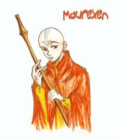 Aang-Enter the Fire Nation by Maurexen