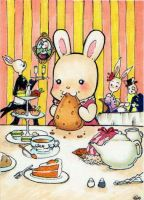 What a Lovely Tea Party ACEO by Jellyfish-Station