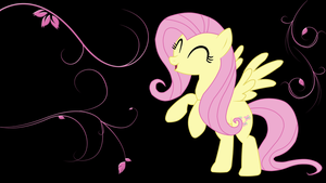 Fluttershy Wallpaper 1.1 by rharzar