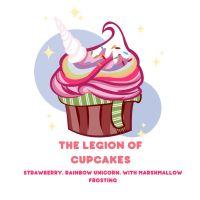 The Legion of Cupcakes by Violet1202