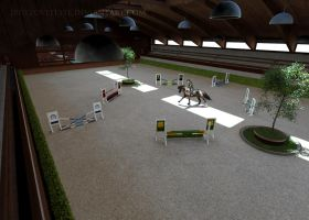 Spectacular Stallion Show - Jumping under saddle by jbdezoveelste