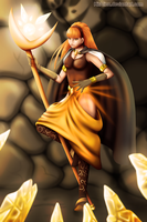 :CE: Daisy the Sorcerer by KirCorn
