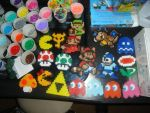 first perler bead collection by triofpwr