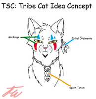 Tribe Cat Concept Idea by AriaSnow
