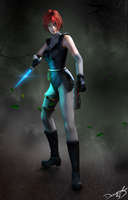 #Dino Crisis - Regina by DemonLeon3D