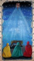 3 wise men nativity by KenshinKyo