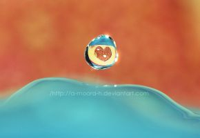 HEART DROPLET by a-moora-h