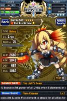 Red Axe Michele by Zorceus