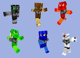 Bionicle Minecraft 3 by Takanuva998