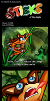 Sticks of the jungle by Azurelly