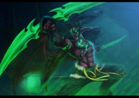 Illidan Stormrage by Rem-Jericho