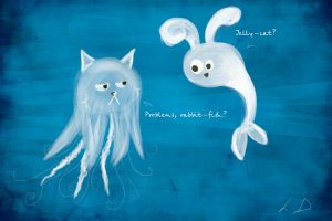 Jelly cat by DominaWhite