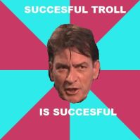 Charlie Sheen-Best Troll Ever by XxHybrid-TheoryxX