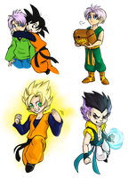 I really like Trunks and Goten by AddictionHalfWay