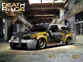 VolksWagen Golf Death Race by Adry53