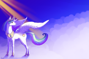 On Celestial plains by Sqwirry