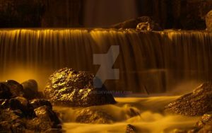 Gold river by delu85