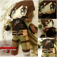 How to Train Your Dragon 2: Hiccup Plushie by frillycarnival