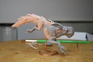 Moai's Pink Predator by stablefly