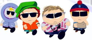 kenny,stan,kyle,cartman by ImmaBanana
