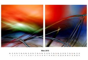 abstract 2010 - calendar 03 by 2-03