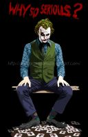 Joker by studiocartoon