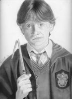 Ron Weasley by everbrighter418