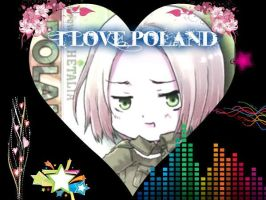 I Love Poland by Sarah-Rika