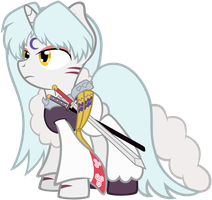 Sesshomaru Ponified by Scourge707