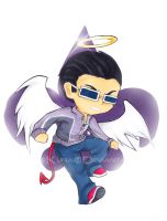 Angel Saints - Johnny Gat by FireKunai